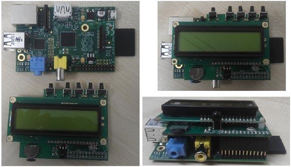 Дополнительный модуль для Raspberry Pi