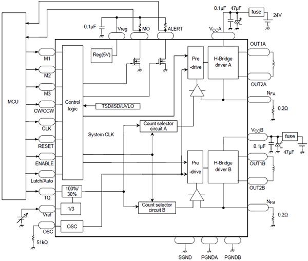 Схема включения TB6600HG