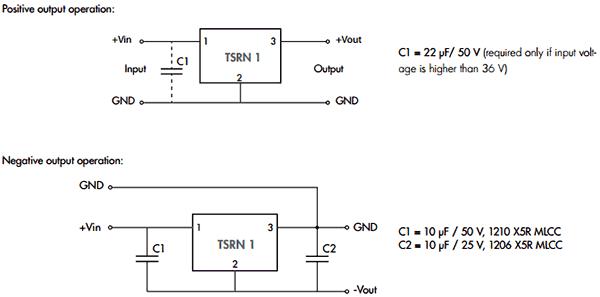 Схема включения TSRN-1