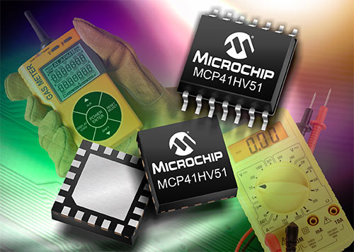 MCP41HV31 и MCP41HV51