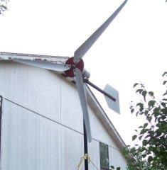 Фото самодельного ветряка
