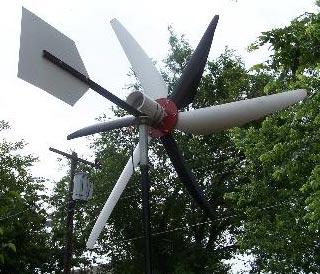 Самодельная ветряная электротанция