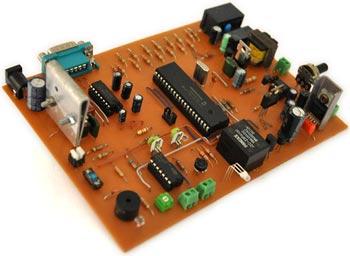 Схемы охранной сигнализации объектов на микроконтроллере Atmega8Фоторезистор. своими рукамиСхема. преобразователя...