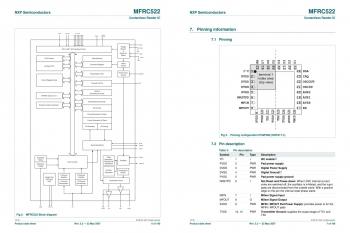Технические характеристики MFRC522
