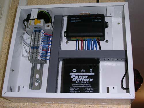 Шкаф с контроллером CCU-6225