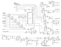 Принципиальная схема GSM сигнализации