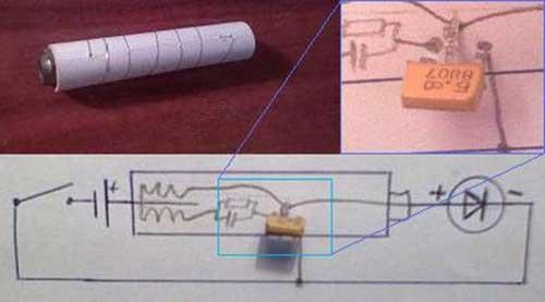 Модернизация фонарика или схемотехника преобразователей напряжения.