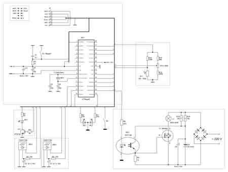 LXP-100, Ночник в розетку 220В