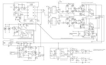 схема сварочного инвертора.