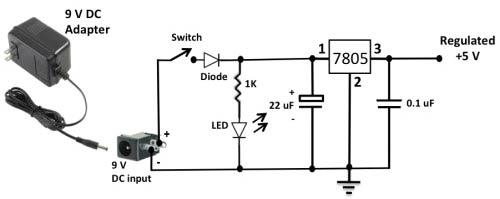 Принципиальная схема таймера приведена ниже.  Для управления 5В реле используется транзистор PN2222, который...