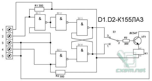Схема автомата