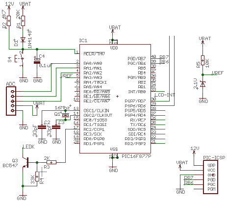 простая схема зарядного устройства для авто
