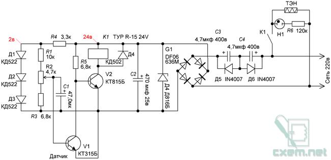 Металлоискатель фишер-2 электрическая схема.  Схема монтажа экм-1у.