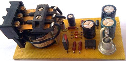 Детали регулятора: транзистор