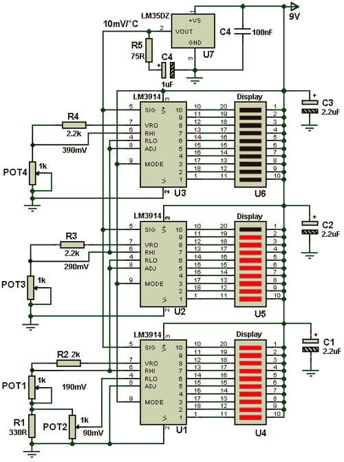 Спецификация электрической схемы преобразователя.