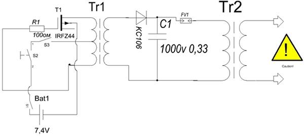 схеме блокинг - генератор