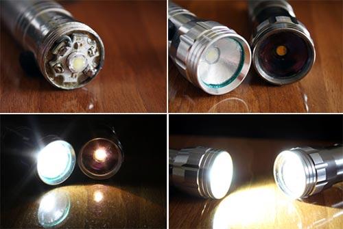 Модернизированный фонарик