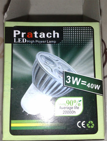Pratach LED Lamp
