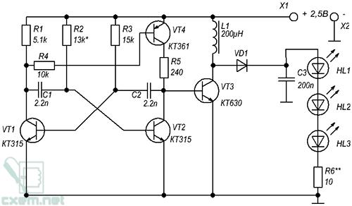 Конструкция и детали: схема