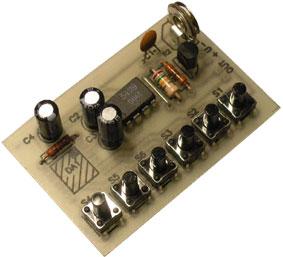 """Имитатор звуков шести различных животных.  С помощью этого устройства вы можете  """"оживлять """" детские игрушки."""