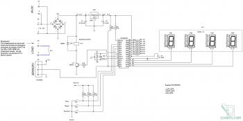 Схема цифрового термостата на 7 кВт