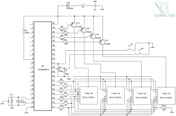Схема секундомера
