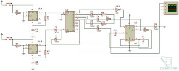 Схема диммера с сенсорным управлением