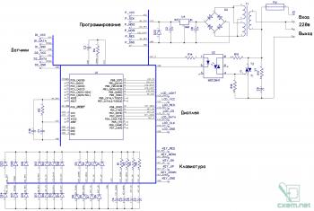 Схема процессора