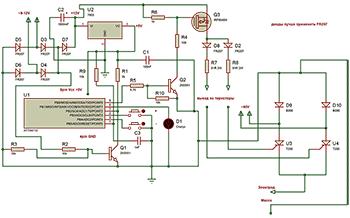 Схема регулятора большой мощности для сварочного аппарата