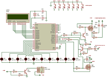 Схема профессионального контроллера для сварочного полуавтомата