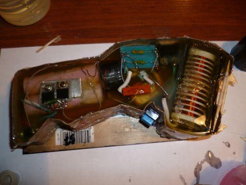 Электрошокер своими руками схема фото