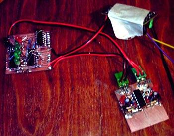 Фото сенсорного выключателя с селектором выхода