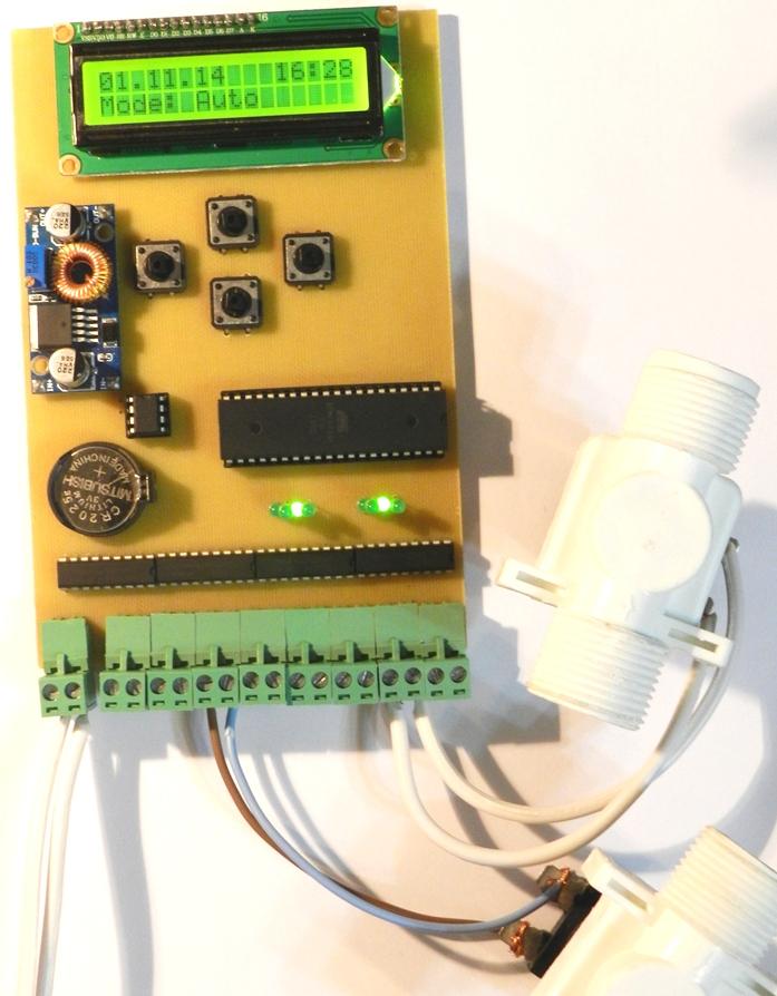 Контроллер управления для системы автоматического полива
