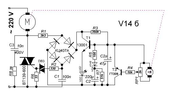 Регулятор оборотов на tda1085 схема фото 277