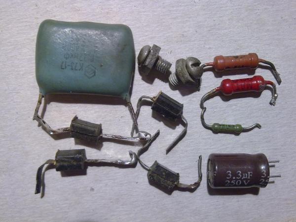 Используемые радиоэлементы