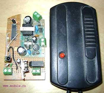 Управление освещением с любого пульта ДУ.  Блок управления освещением.