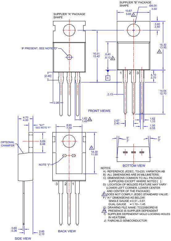 Корпус TO-220 3L
