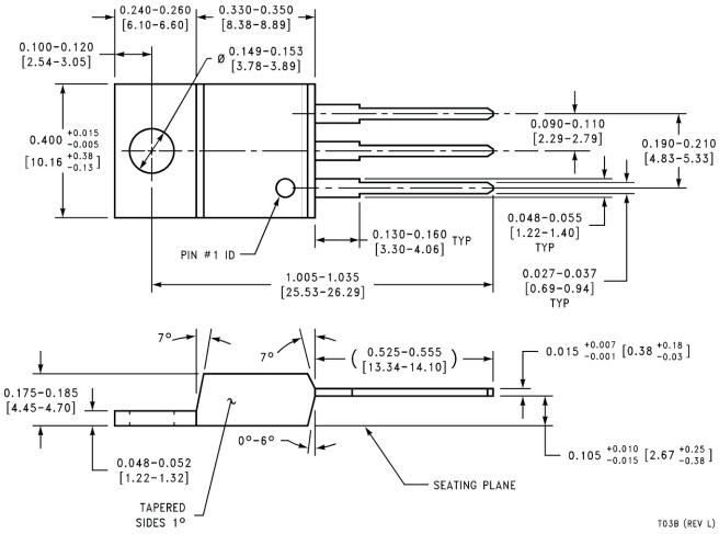 Корпус 3TO-220