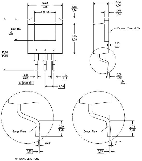 Корпус 3DDPAK/TO-263