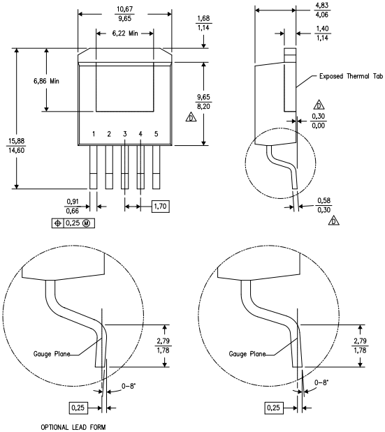 Корпус 5DDPAK/TO-263