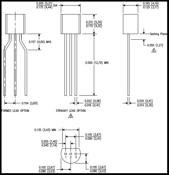 Корпус 3TO-92