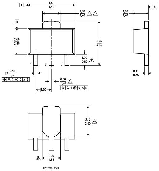 Корпус 3SOT-89