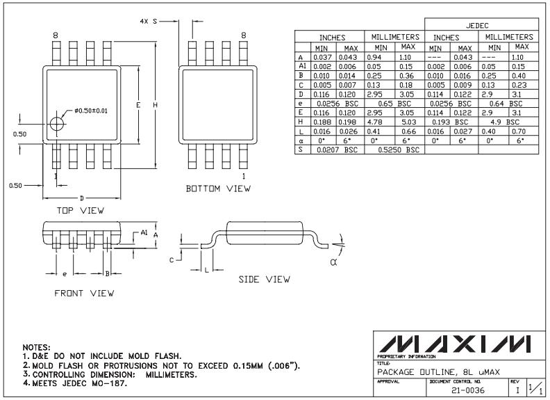 Корпус µMAX/8