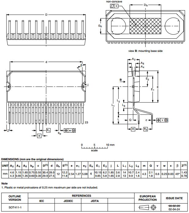 Корпус SOT411-1