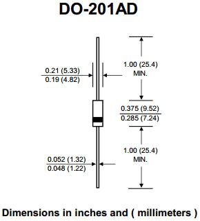 Корпус DO-201AD