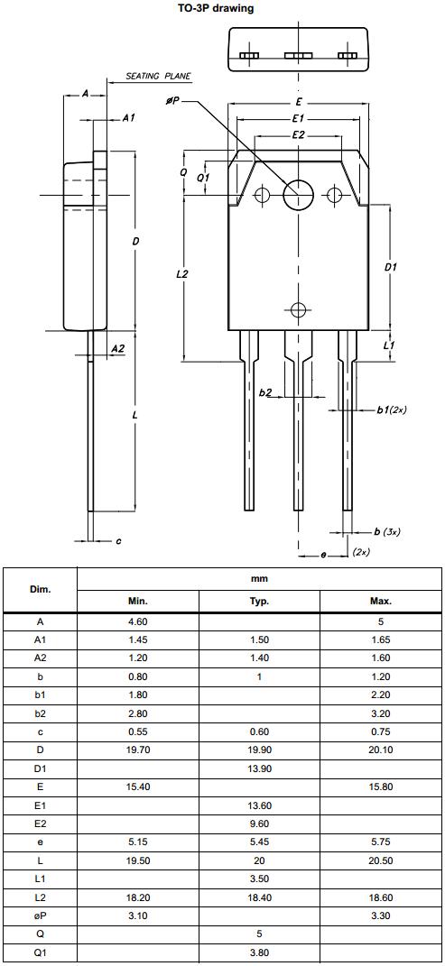 Корпус TO-3P