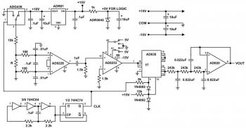 Принципиальная схема микроомметра
