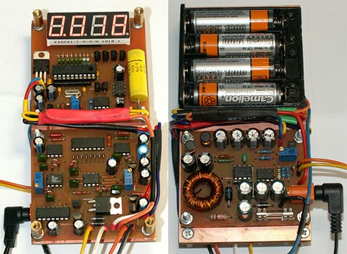 Фото собранного ЭПС измерителя