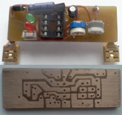 Микросхему стабилизатора напряжения 78L05 можно заменить на 7805, при этом немного возрастёт потребляемый ток.