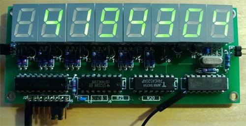 Фото частотомера на MPS430